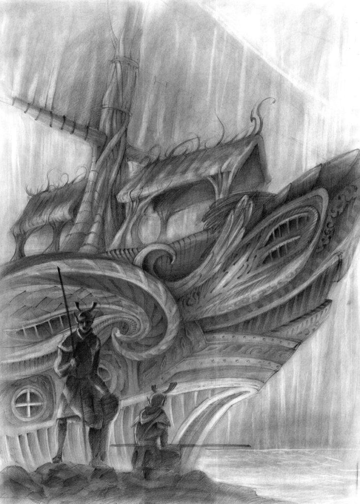 fantasy, sci-fi, fantastyka, concept art, drawing, graphic, domin, kurs, szkoła rysunku, architektura, kreatywnie, hobby, wapp