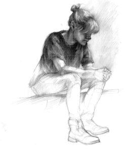 postać, anatomia, rysunek, grafika, człowiek, z natury, akademia, egzamin, wapp, asp, uniwersytet artystyczny, wydział architektury, portret,