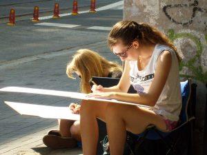 wakacje, rysunek, kurs, hobby, zajęcia, architektura, wakacje w mieście, zajęcia, nauka rysunku,