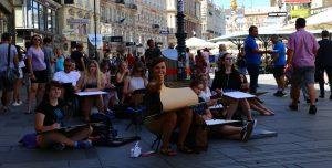 Domin Gdansk na plenerze