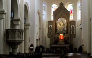 kościół matki bozej bolesnej poznan